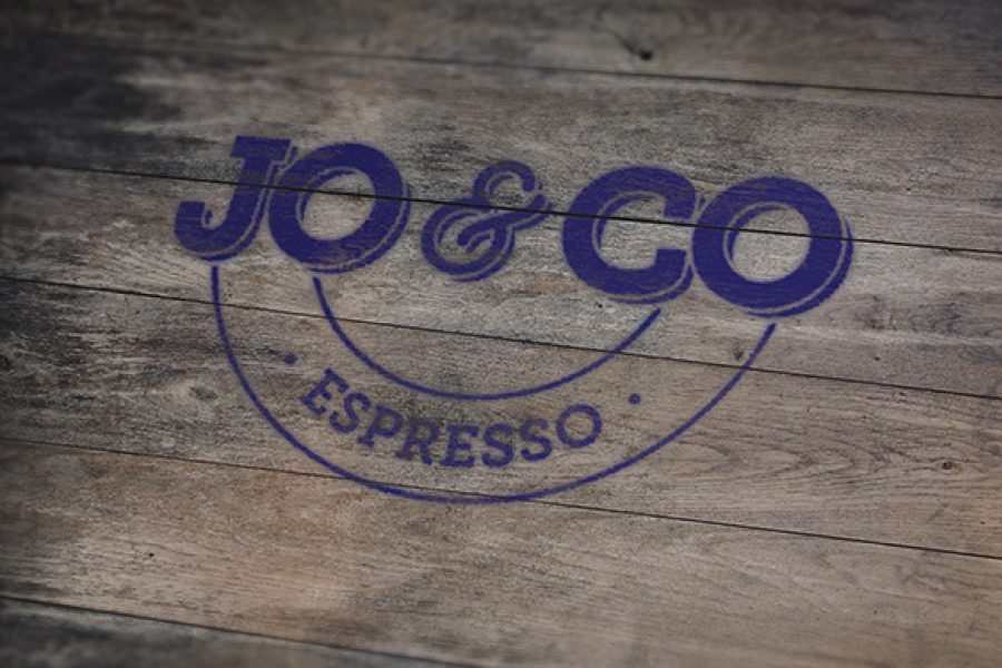 Business card printing creative logo graphic and web design square business card jo and co espresso reheart Gallery